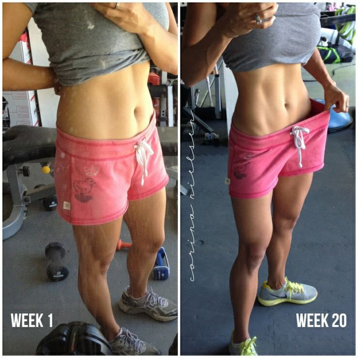 """Cool weight loss journey, went from """"skinny fat"""" to healthy and toned - also TONS of clean eating recipes!"""