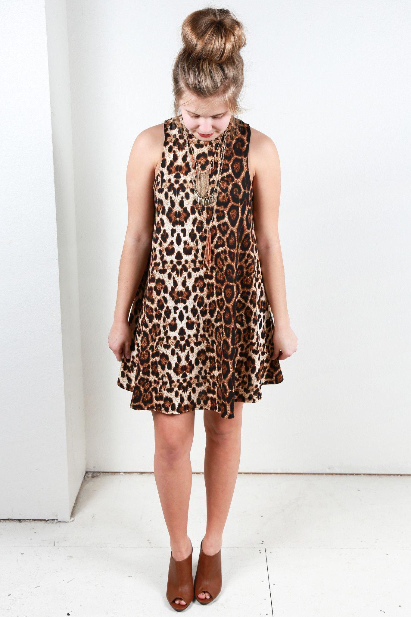 Leo High Neck Dress