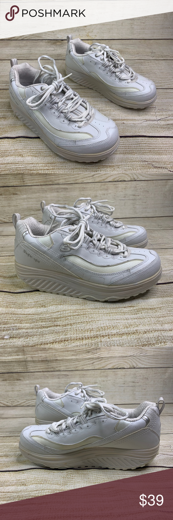 Skechers Shape Ups Toning Walking Sneakers 9 These shoes are