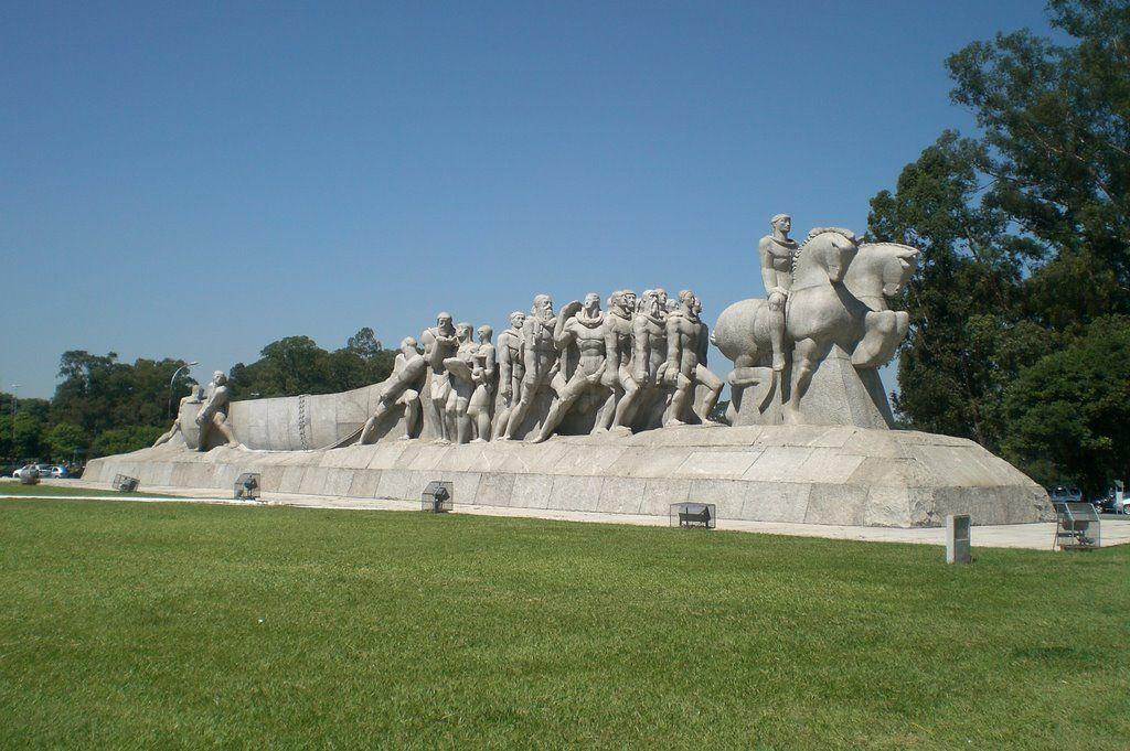 Monumento as Bandeiras-São Paulo-SP-Brasil