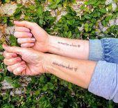 48 significativi tatuaggi madre-figlia per onorare il suo amore incondizionato …