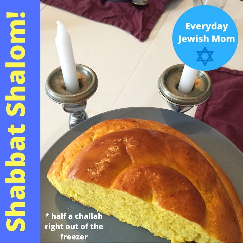Visit Everyday Jewish Mom on YouTube for great tips on how to squeeze a little Jewish into your everyday life.