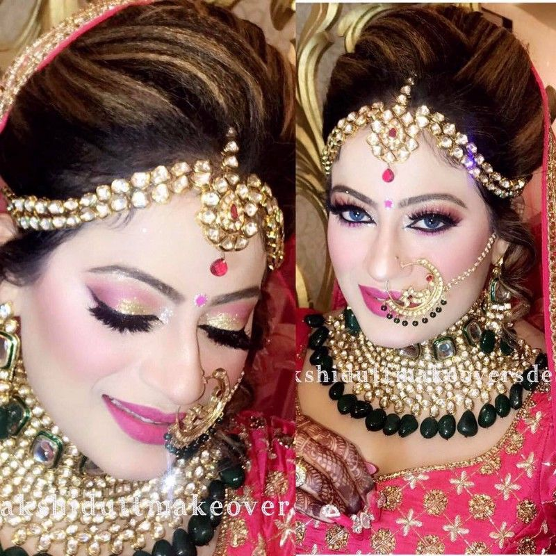 Get Those Oomph Looks With Cosmetics Bridal jewellery