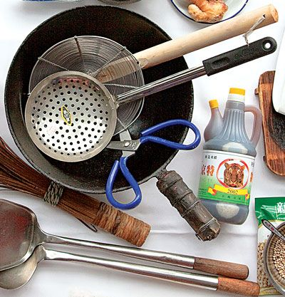 Stir Fry Tools Asian Cooking Utensils Stir Fry Cookware And Bakeware