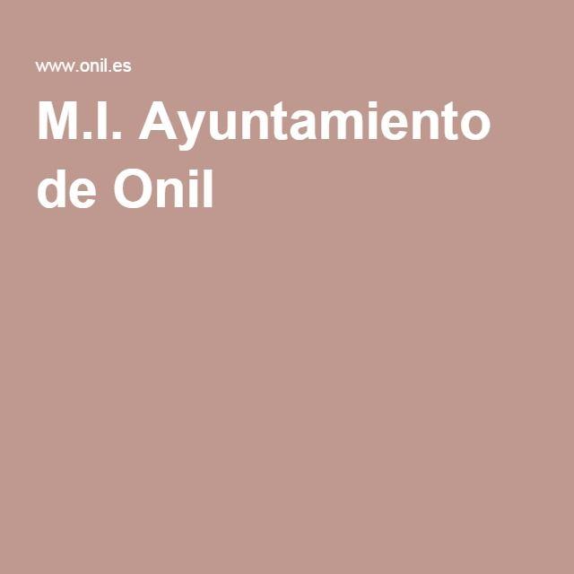 M.I. Ayuntamiento de Onil