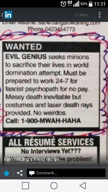 I am recruiting for a friend :p