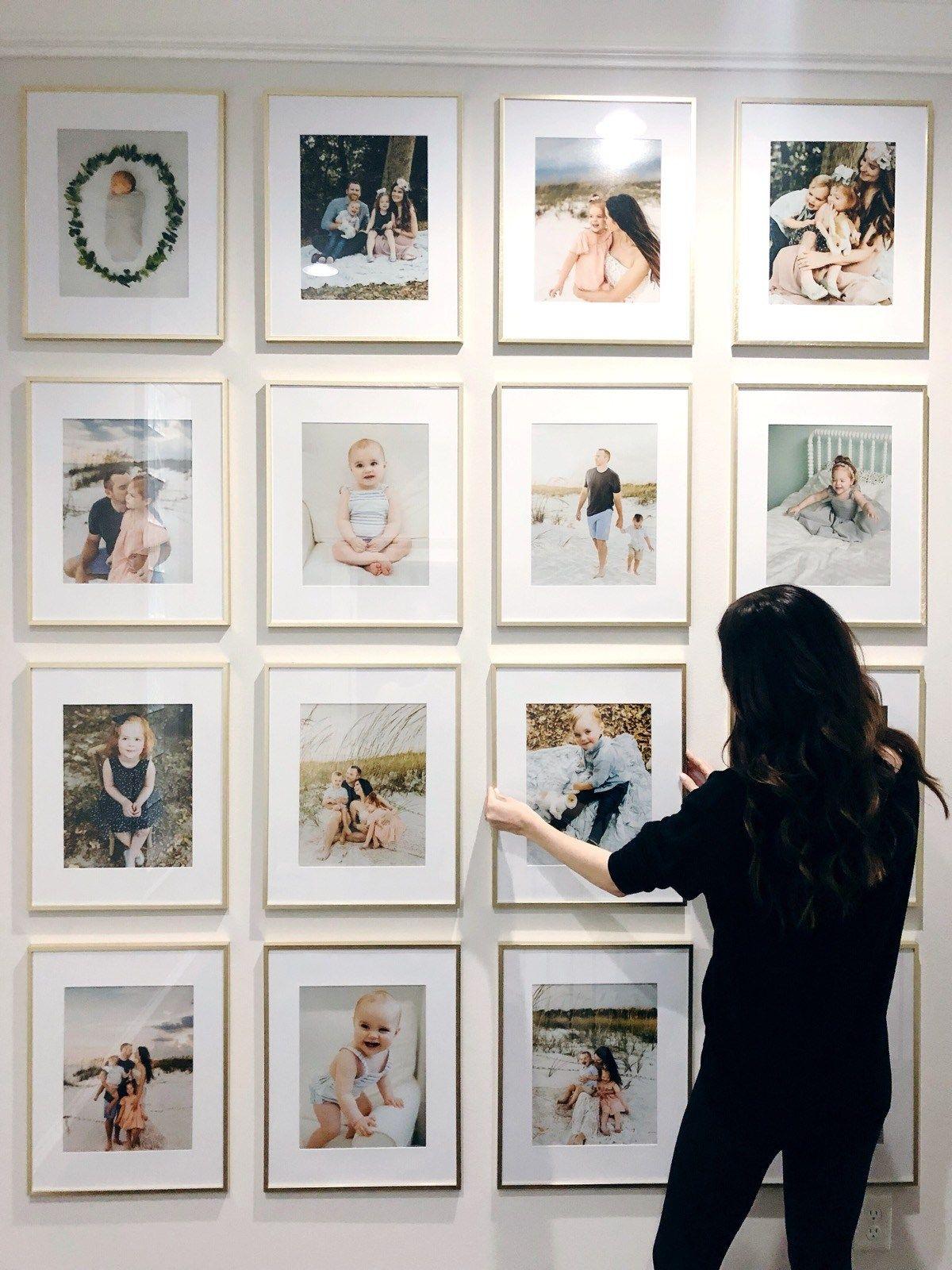 весь фигуры из фотографий на стене поделитесь