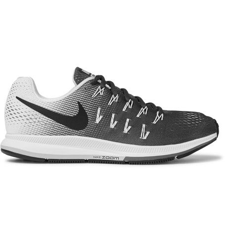 Nike Running - Air Zoom Pegasus 33 Mesh Sneakers