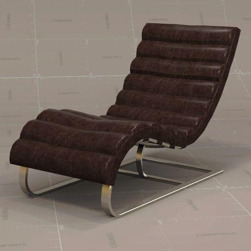 Beau Oviedo Leather Chair.
