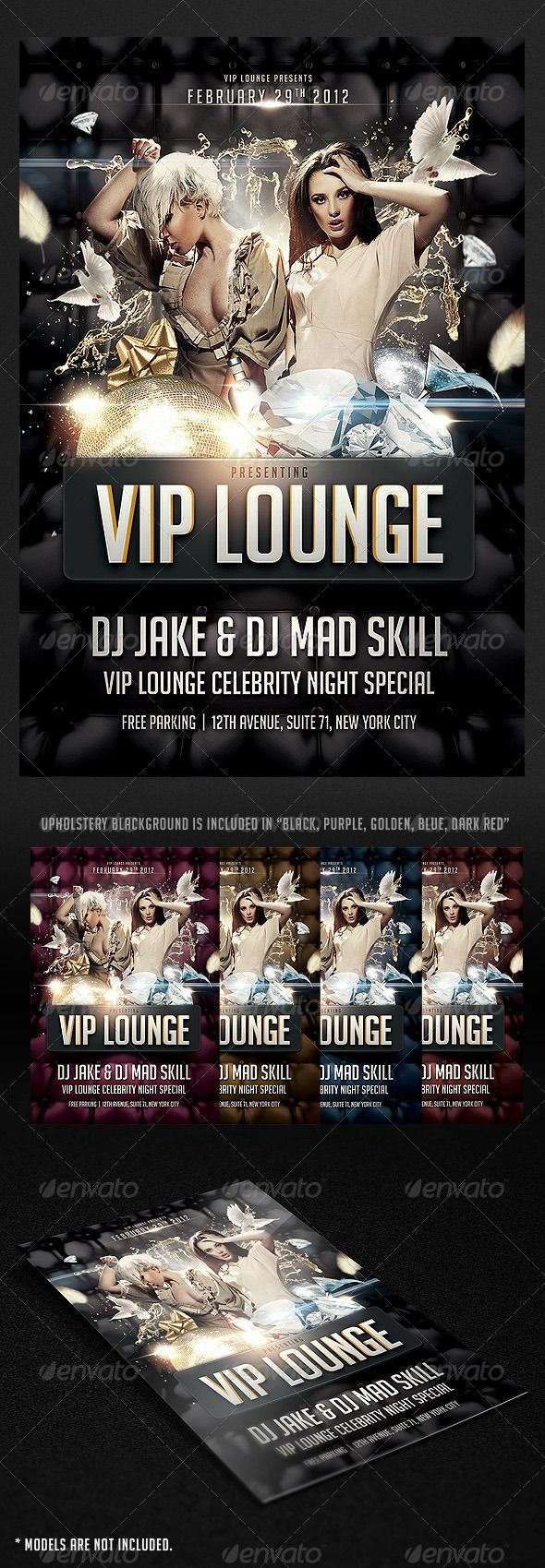Vip Lounge Flyer  Vip Print Templates And Flyer Template