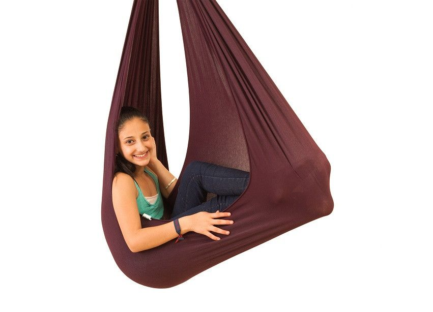 autism jumbo therapy swing   dark purple   up to 165 lbs   cute cuddle      rh   pinterest