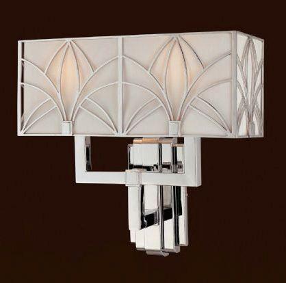 Metropolitan Lighting Fixture Co Sconce Art Deco