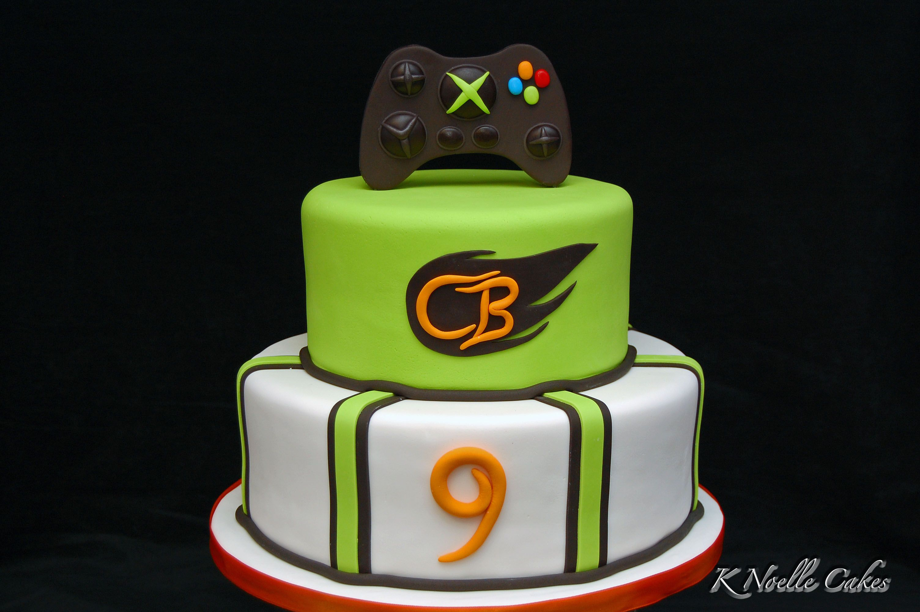 Video Game theme cake by K Noelle Cakes Video game cakes