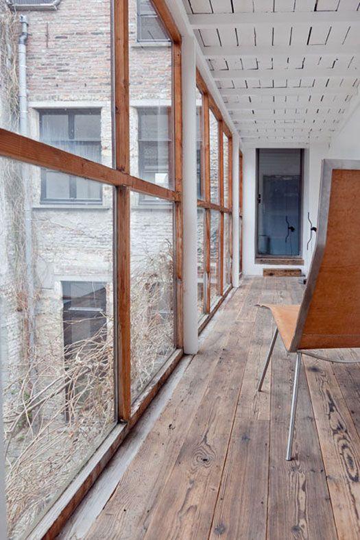 Desire to inspire coffeeklatch for Raw wood flooring