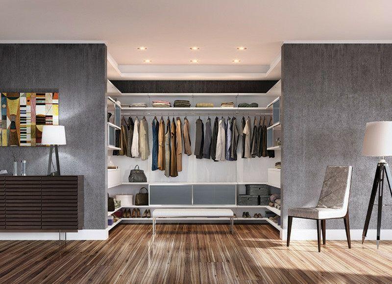 Begehbarer Kleiderschrank mit stilvollem Design | future | Pinterest ...