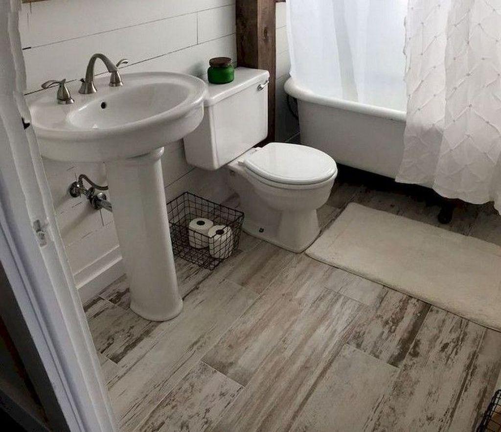50 best rustic farmhouse bathroom flooring ideas bathroom rh pinterest com