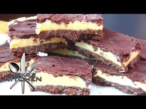Chocolate Caramel Slice (No Bake) - Nicko\'s Kitchen - YouTube ...