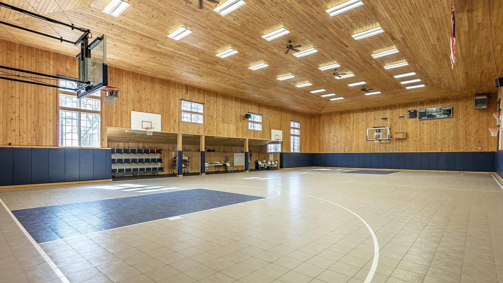 Live Like A Baller In These 7 Homes With Indoor Basketball Courts Indoor Basketball Court Home Basketball Court Indoor Basketball