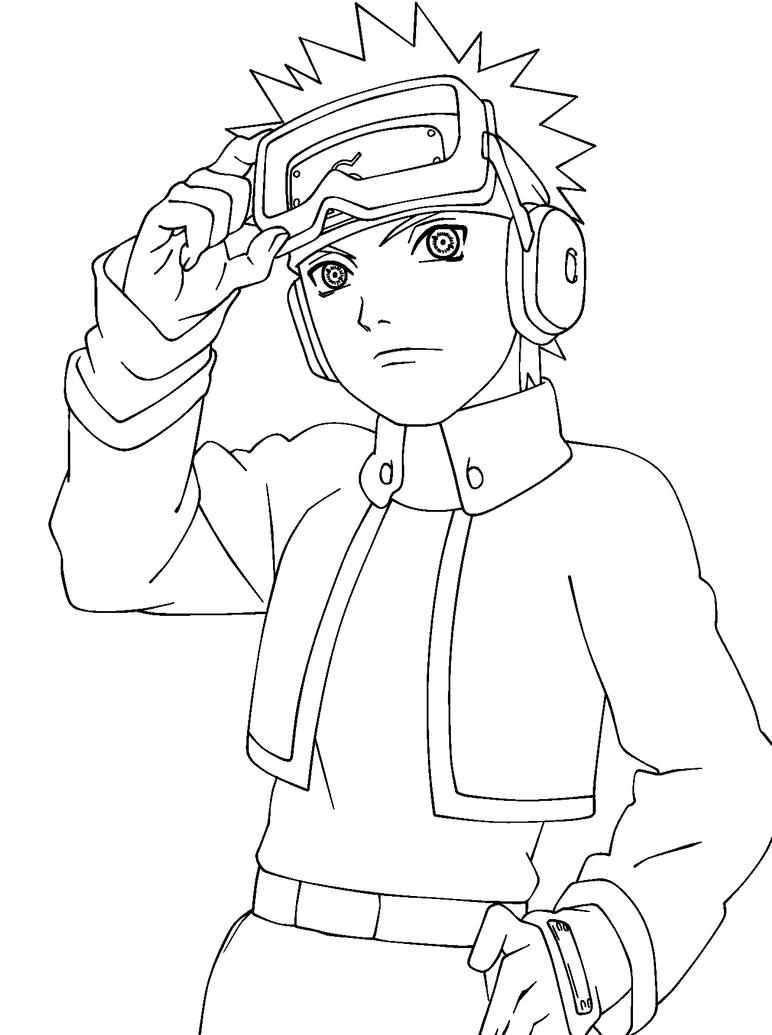Naruto Obito Lineart By Thesaigo Naruto Drawings Easy Naruto Sketch Drawing Naruto Sketch