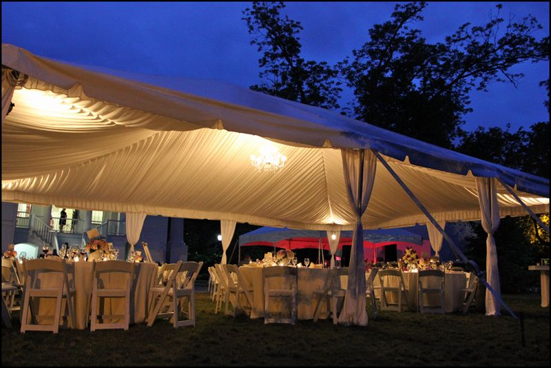 tent wedding ideas Wedding Lighting Ideas Wedding Reception