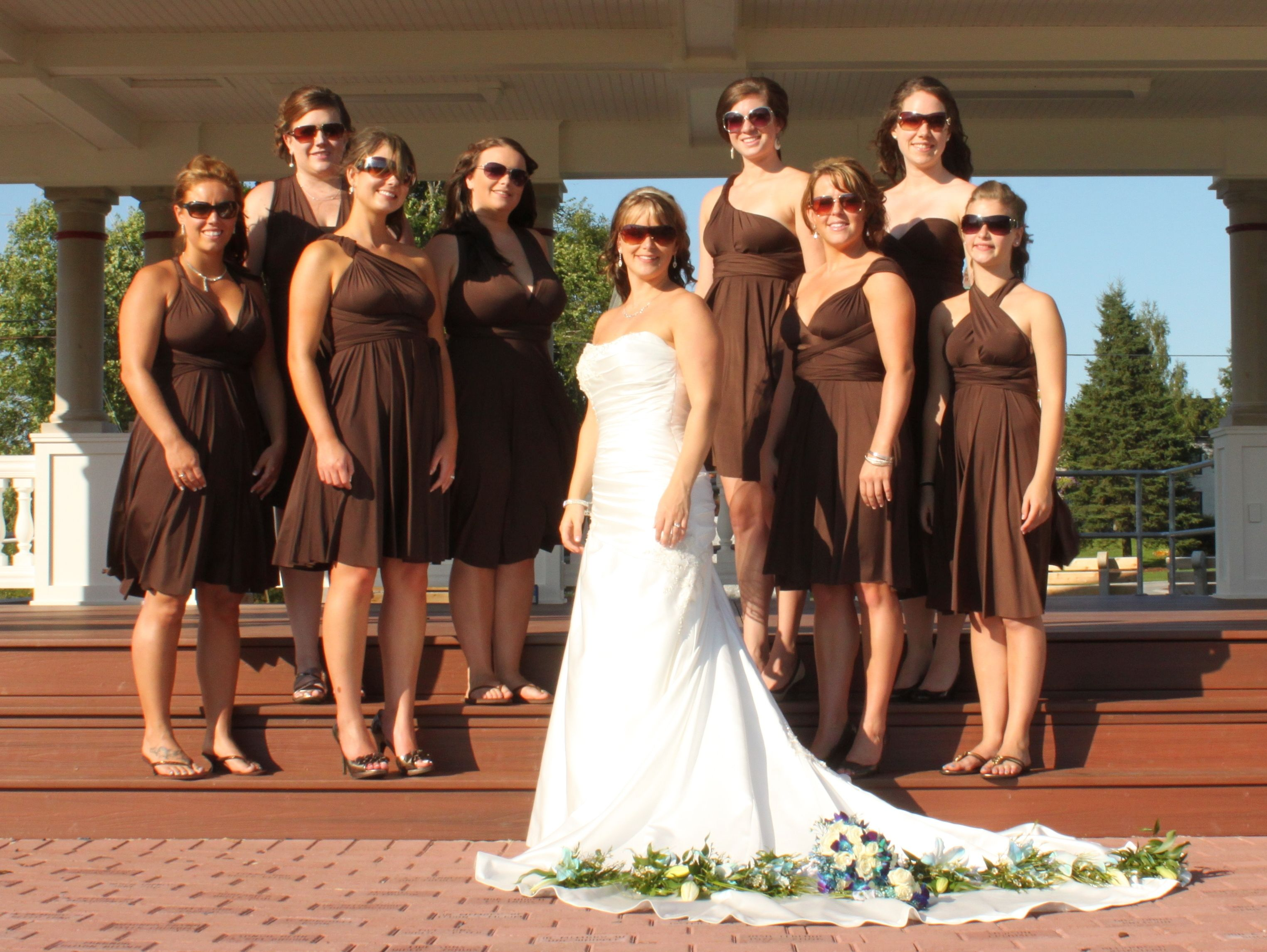 Chocolate Brown Henkaa Loverly Chocolate Brown Dress Brown Dresses Outfit Brown Wedding Themes