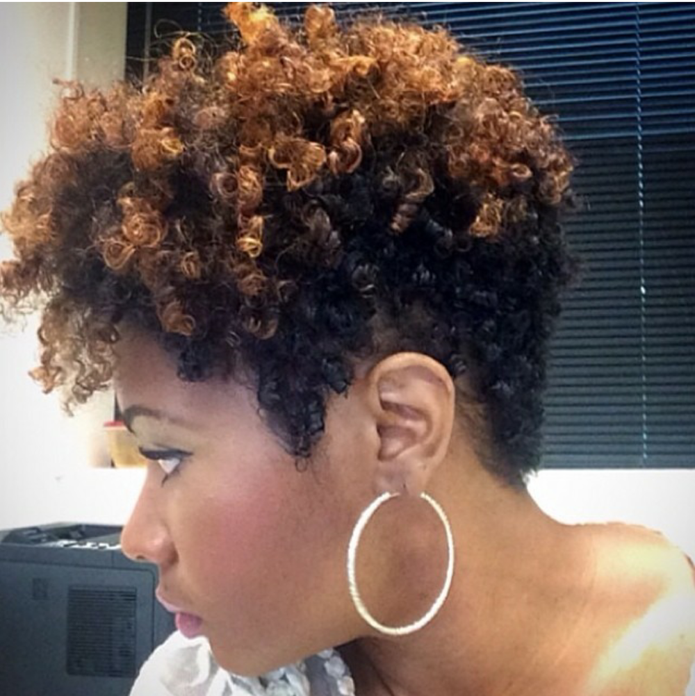 Natural Tapered Cut on Pinterest | Tapered Natural Hair ...