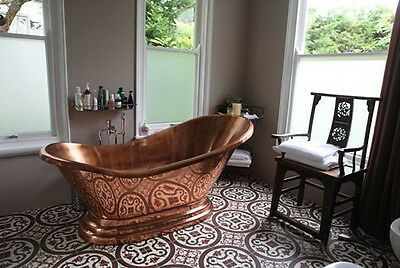 "Photo of Copper Bathtub ""Princess Alexandra"" Hand Made Package Deal  642968874493 