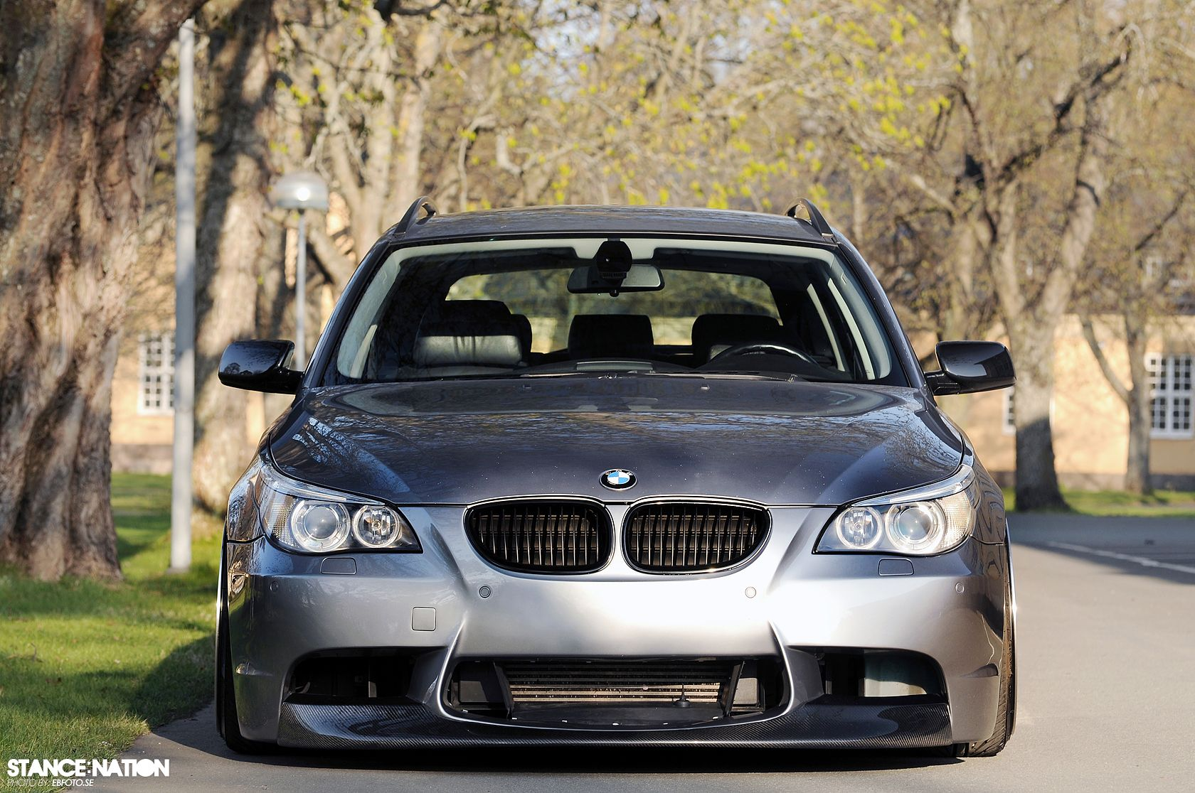 stanced fitted bmw 5 series e61 8 cars pinterest bmw cars and auto wheels. Black Bedroom Furniture Sets. Home Design Ideas