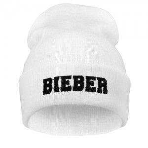 Bieber Biala Czapka Beanie Krasnal Haft Hat Fashion Beanie Knit Beanie