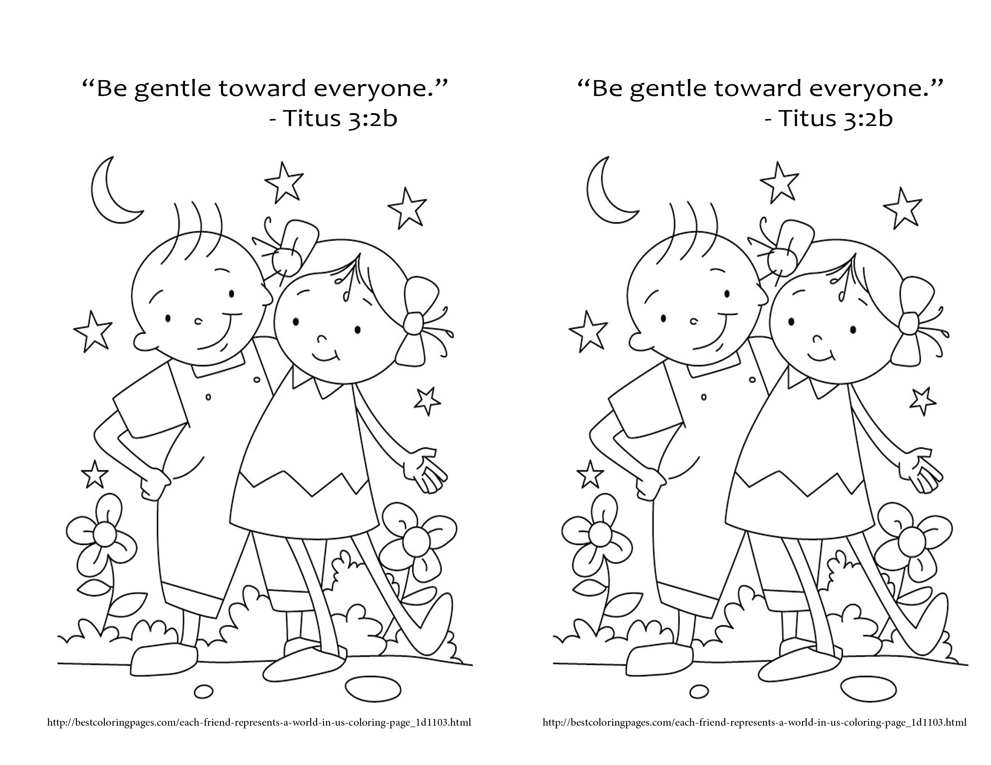 Gentleness Fearfully And Wonderfully Made Bible Coloring Pages Preschool Coloring Pages Bible Coloring
