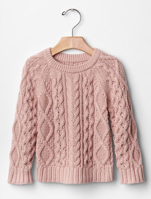 c92ce97d700f Baby Gap blush pink knit sweater