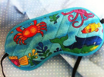 Get Crafty Now!!: Máscara de dormir..