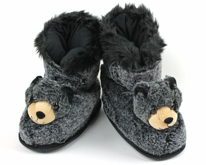 super popular cheap for sale picked up Panda Slippers | bearz | Bear slippers, Slipper boots, Slippers