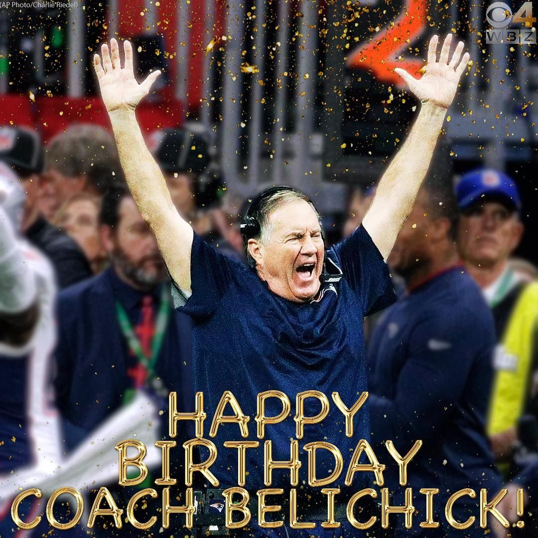 Time To Party! Happy Birthday Coach! 🥳 #WBZ #Patriots