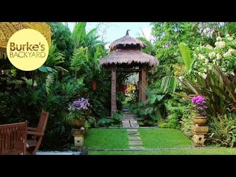 Don Burke Visited The Amazing Tropical Style Garden Of