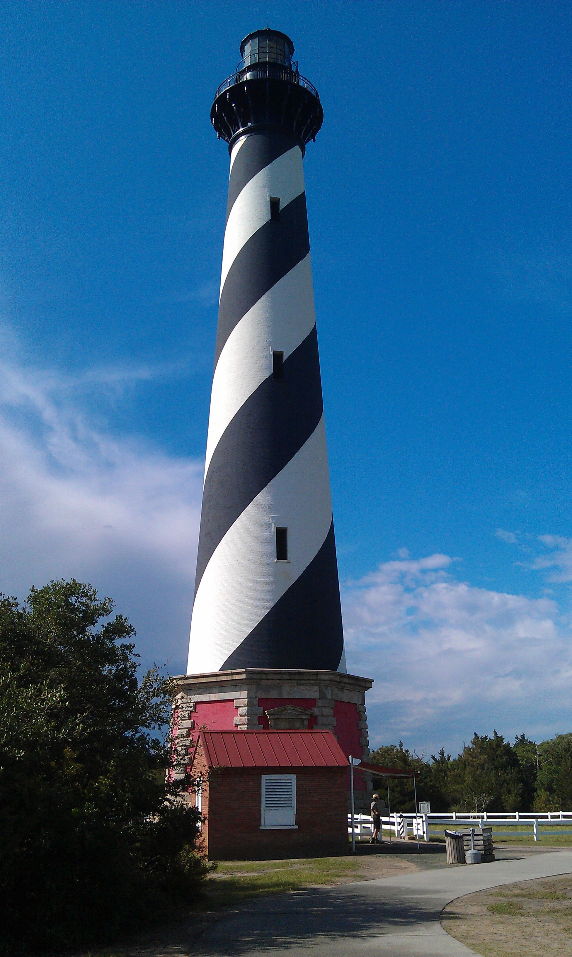 Outer Banks Cape Hatteras Hatteras Lighthouse Climbed