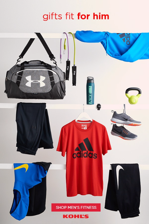 1e52f3bcf Get men's active gifts at Kohl's. You'll find workout clothes ...