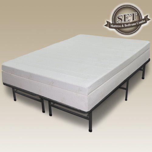 Best Sleep Master 13 Pillow Top Memory Foam Mattress Frame 400 x 300