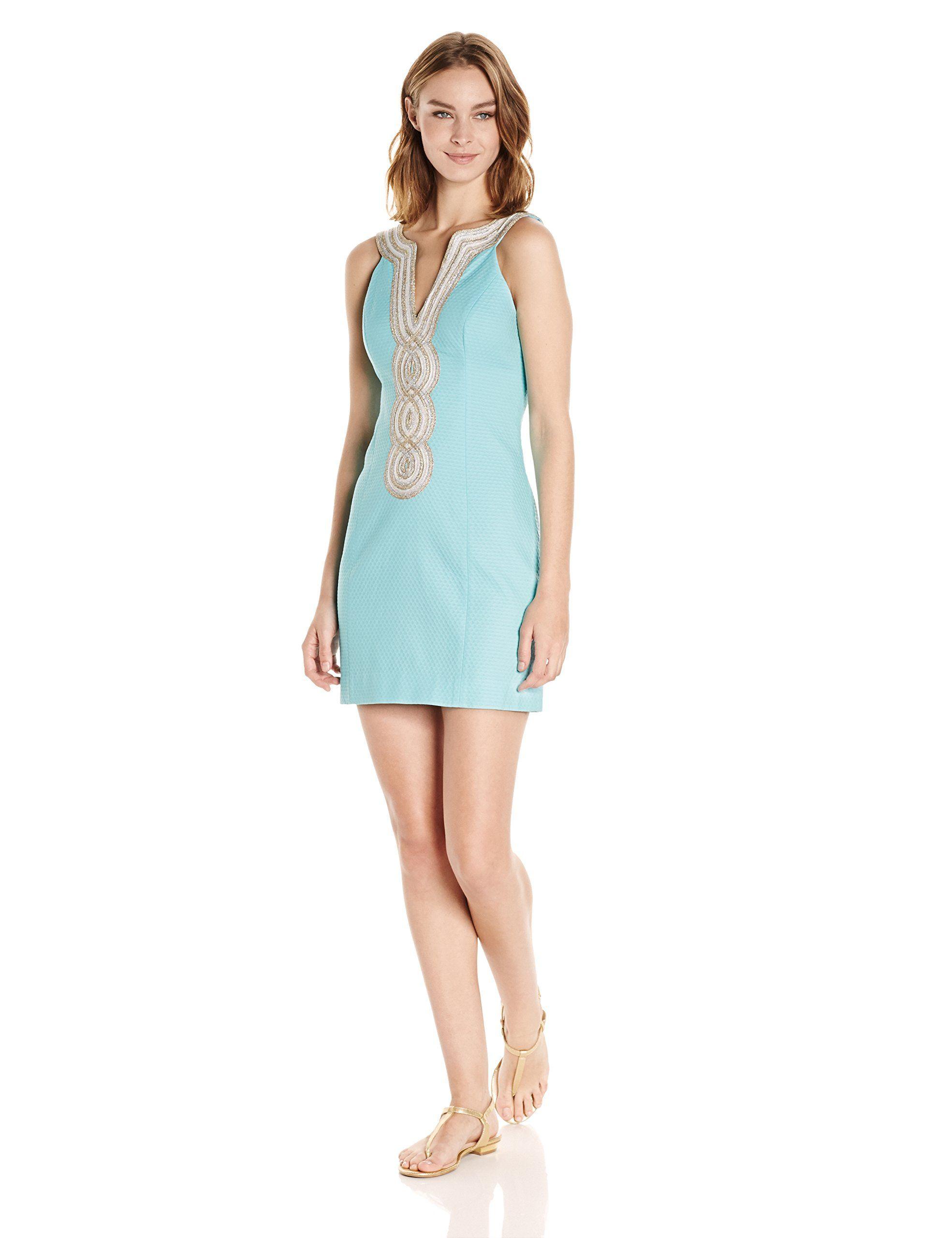 Lilly pulitzer womenus valli shift serene blue apparel pinterest