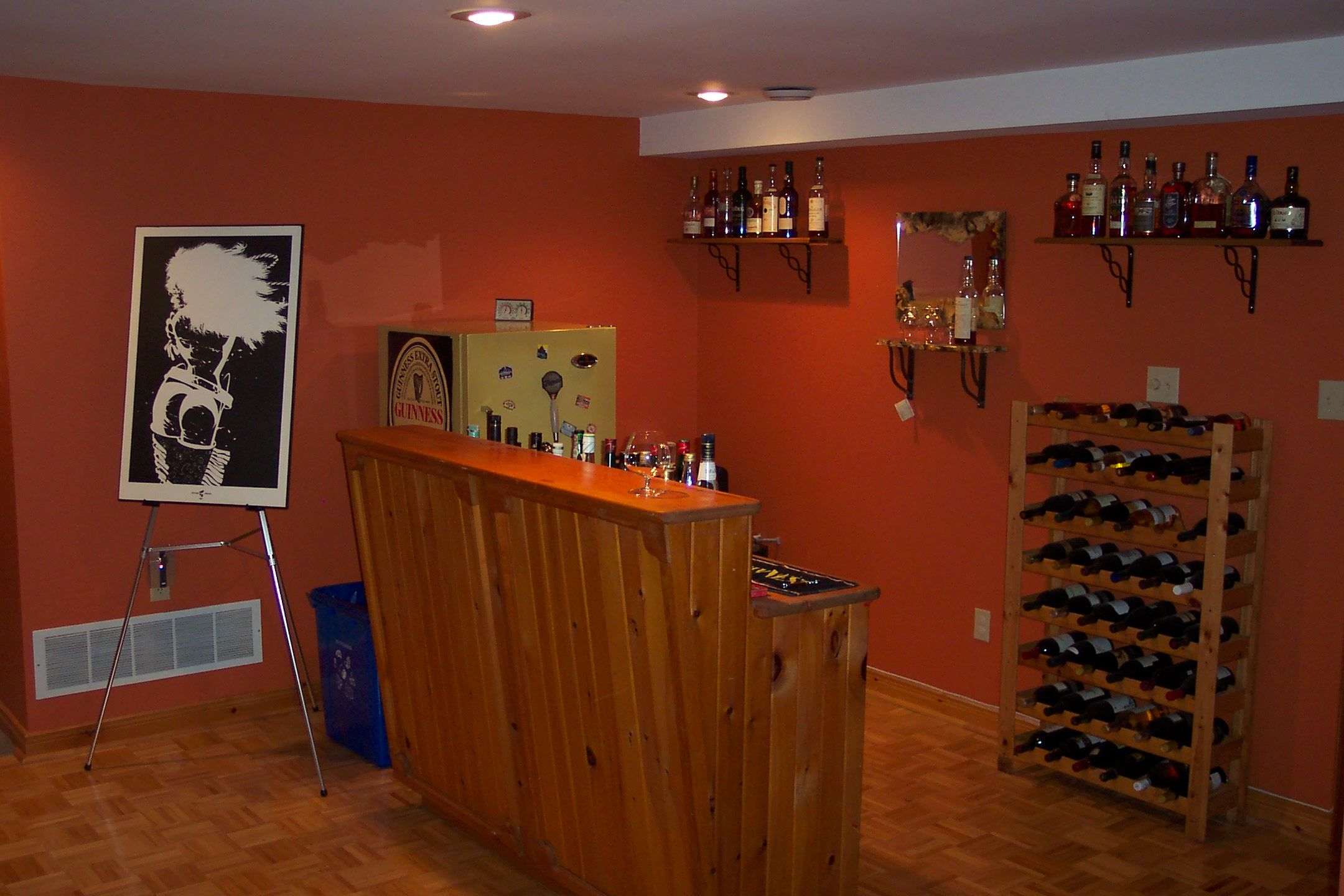 Simple Basement Designs Collection Image Review