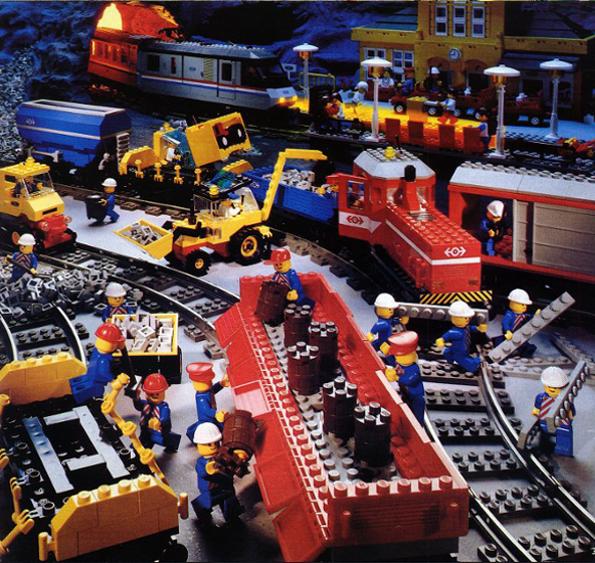 Lego train 1991 set