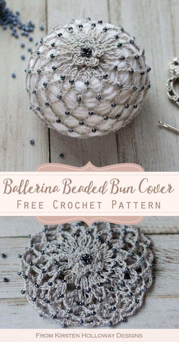 Free Crochet Bun Cover Hair Accessory Pattern - #accessory #bun #Cover #Crochet #Free #hair #Pattern