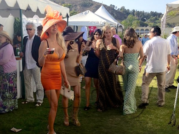 polo match outfits what to wear orange dress with orange fabulous hat