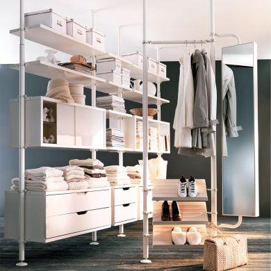 systeme modulaire pour desencombrer la garde robe rangement inspirations decoration et renovation