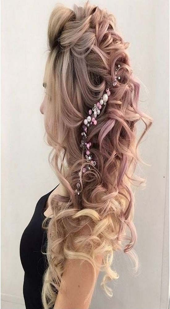 Long Wedding Hairstyles Long Wedding Hairstyle 20172018  Hѧıяṃѧҡєȗƿ  Pinterest  Latest