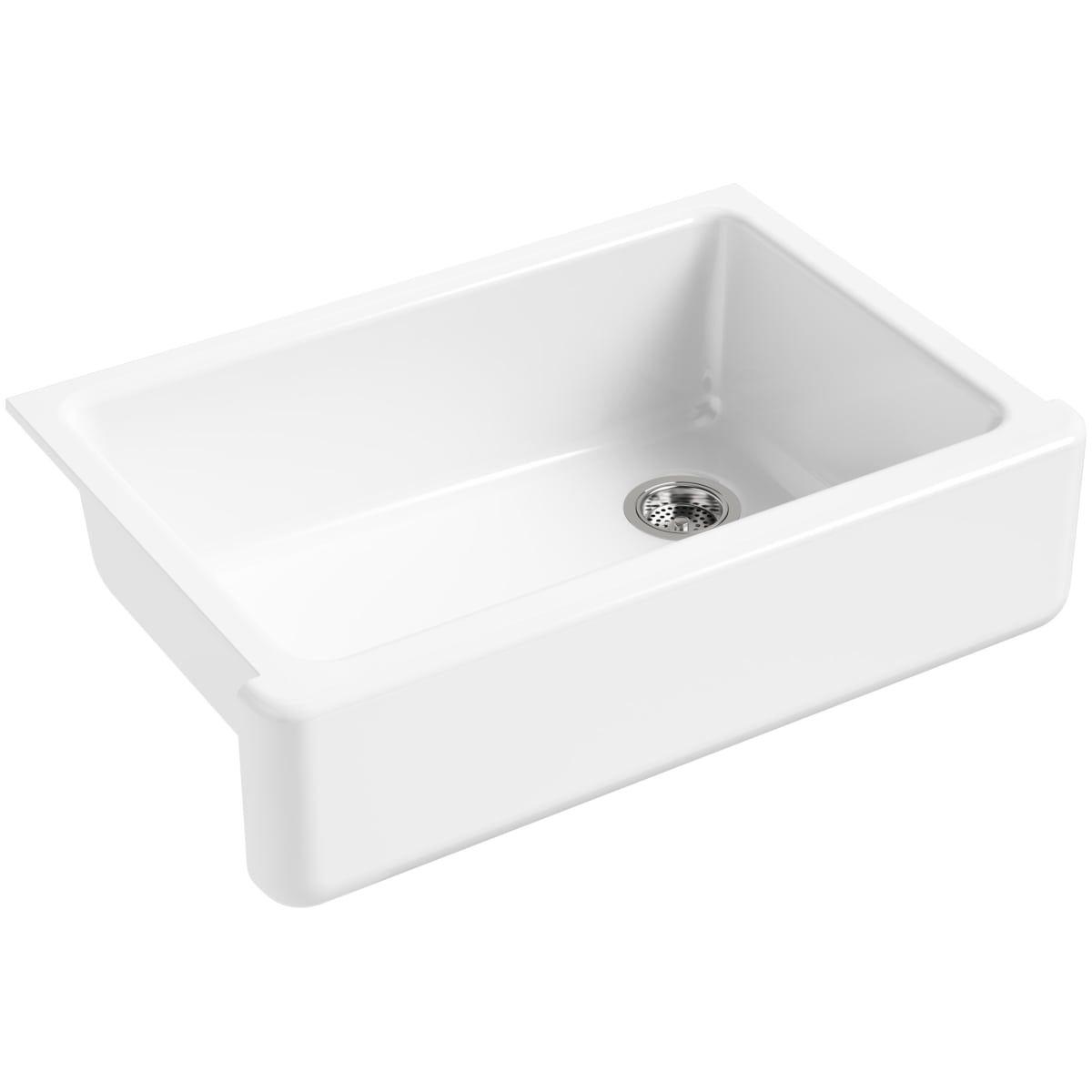 Kohler K 5827 Cast Iron Kitchen Sinks Single Bowl Kitchen Sink