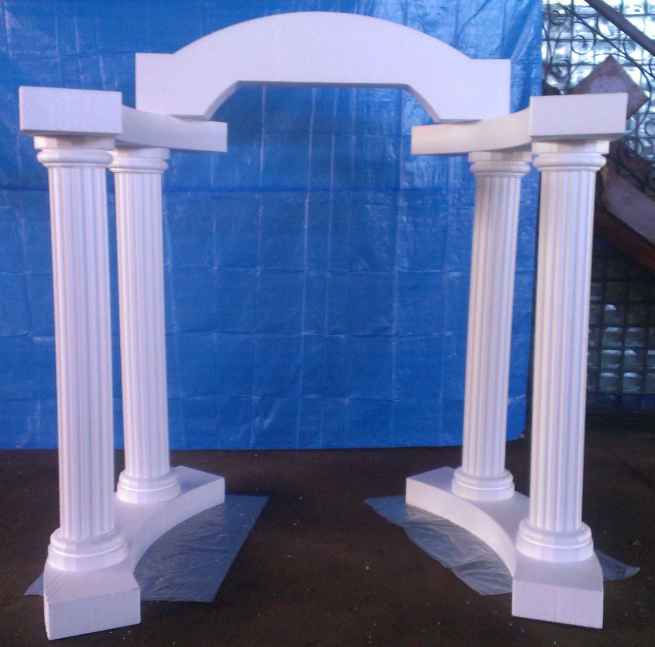 EPS foam decoration columns