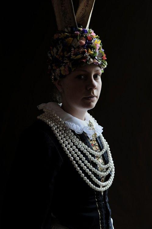 Folk costume of Altes Land, Germany