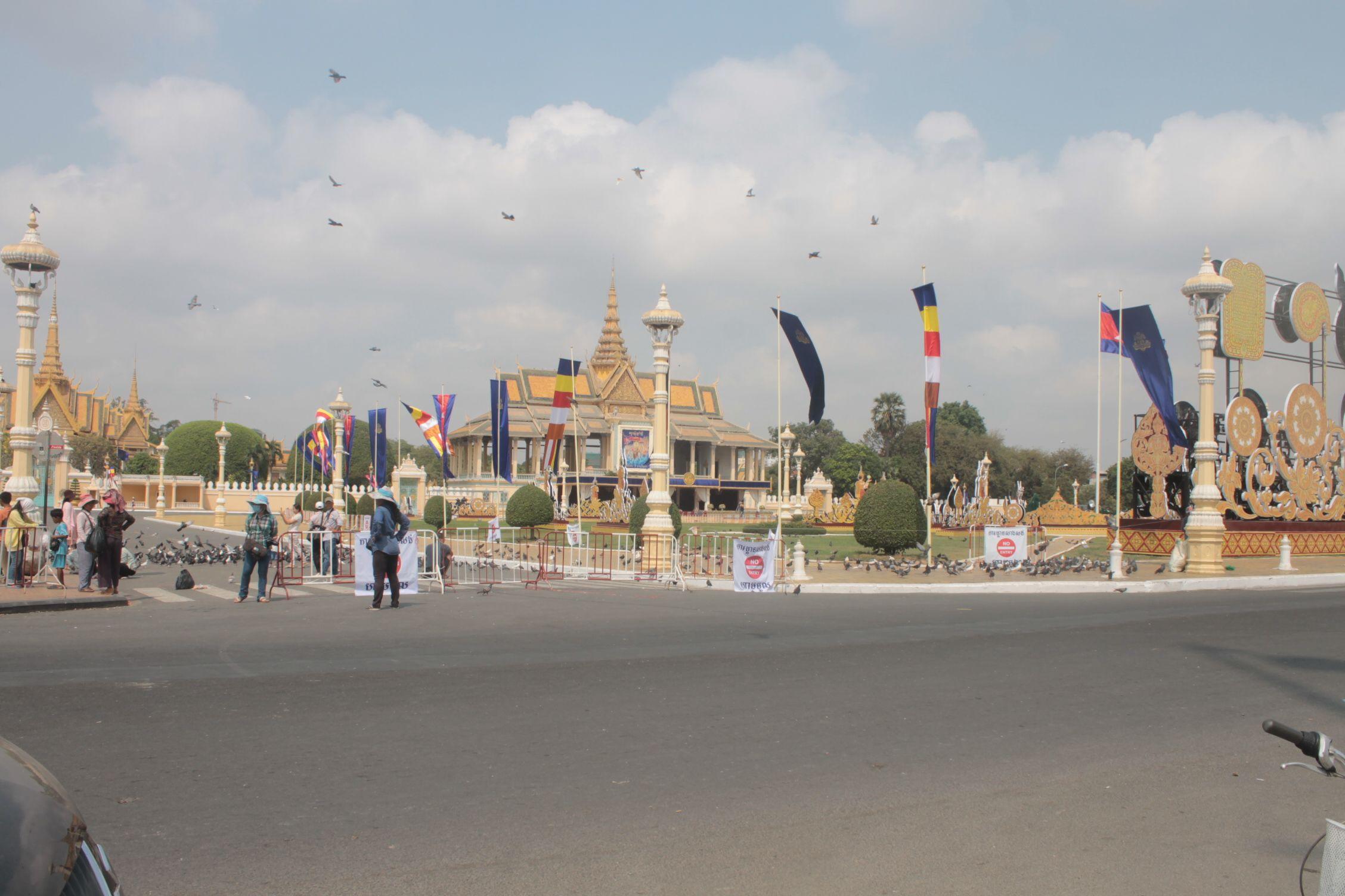 El palacio de Phnom Penh
