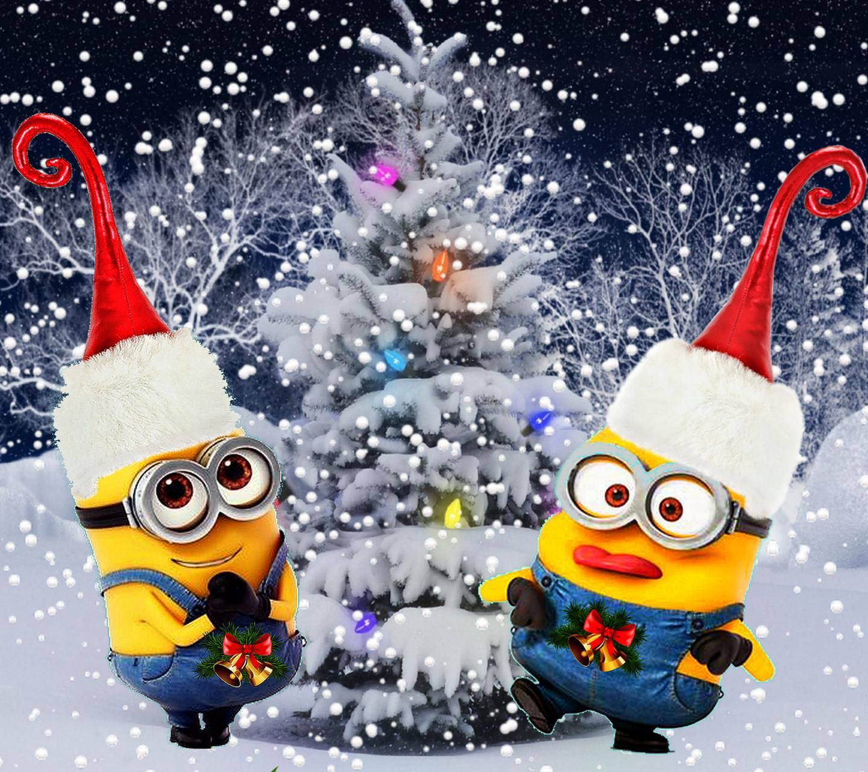 minion christmas minionki t a i t a do telefonu
